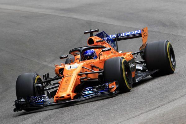 Fernando Alonso, McLaren, Italian GP