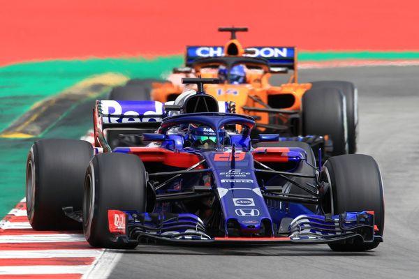 Brendon Hartley, Toro Rosso, Spanish GP