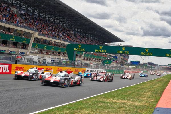 The Start at Le Mans 24