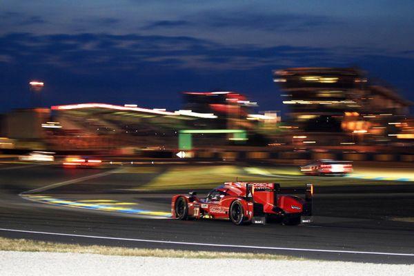 Porsche LMP1 at Le Mans 24