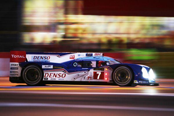 Toyota LMP1 Le Mans fairground