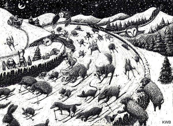 Woodland creatures 1