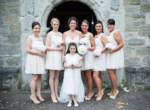 Sarah and her bridesmaids !