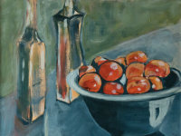Still Life with Nectarines