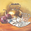 Kettle and Onions by Charmian Hayes
