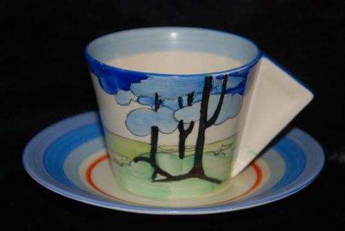 Conical Cup & Saucer