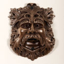 Green man (Bronze finish)