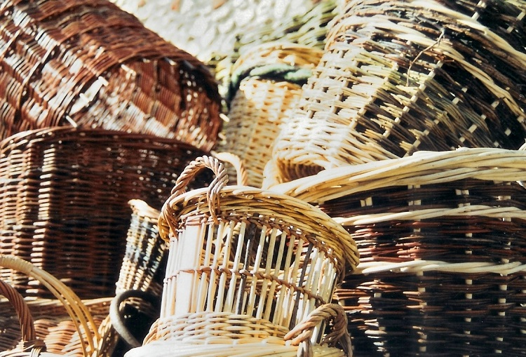 A selection of Burnham Willow Baskets