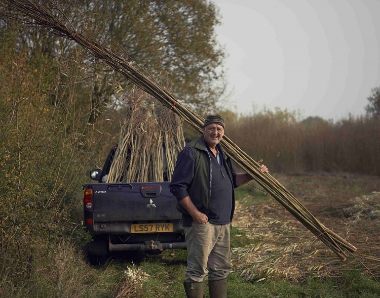 Burnham Willow loading-up in the Willow Bed