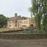 Woven Burnham Willow Pond Surround at Snowre Hall Norfolk
