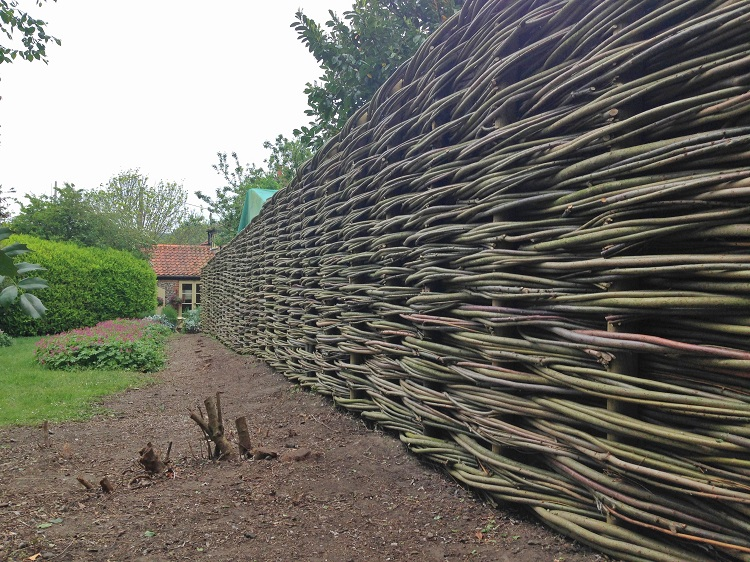 Burnham Willow  Fencing.