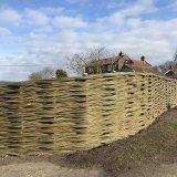 Burnham Willow Handmade Woven Willow Fencing