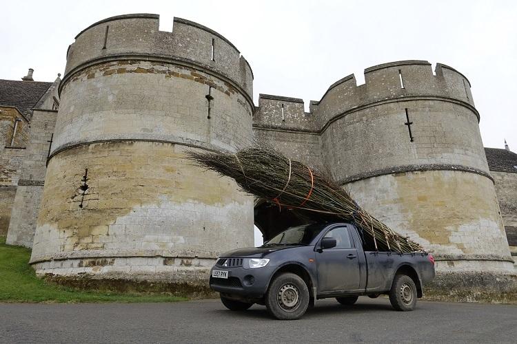 Burnham Willow on tour at Rockingham Castle Leicestershire