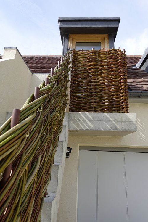 Burnham Willow  woven staircase