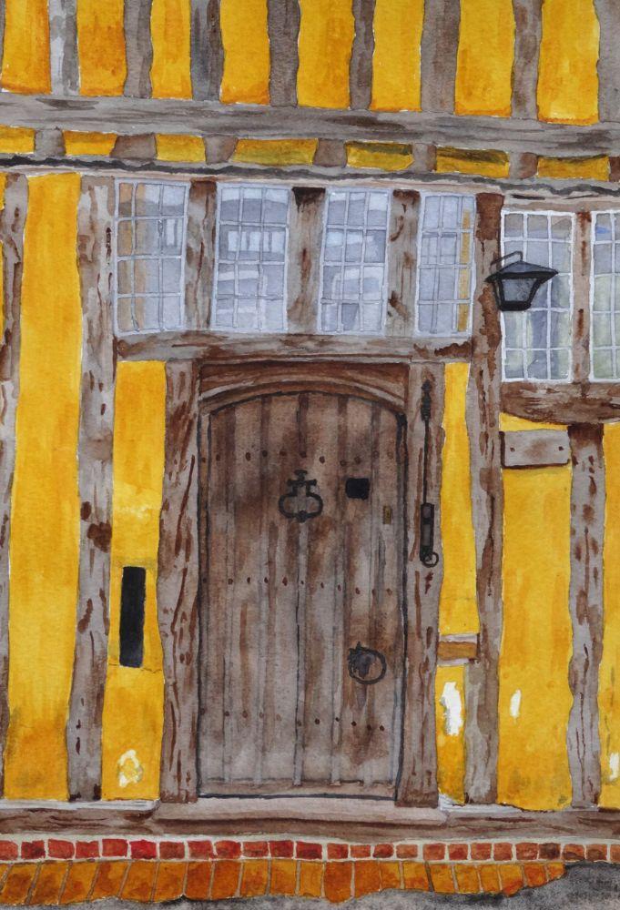 A Lavenham doorway