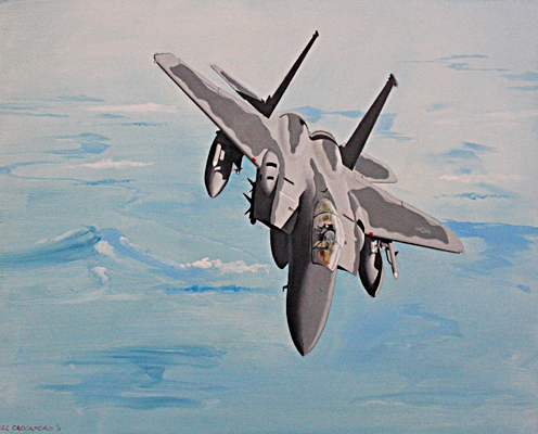 F15 In the Blue