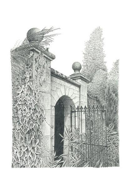 Italian Garden Gate Ickworth