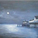 Moonlit Pier, Southwold