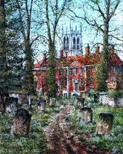 The Churchyard, Bury St Edmunds
