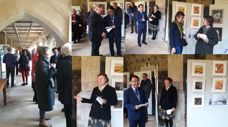 Spring Exhibition 2019 at the Cathedral Cloisters