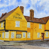 The Fox Inn public house Bury St Edmunds