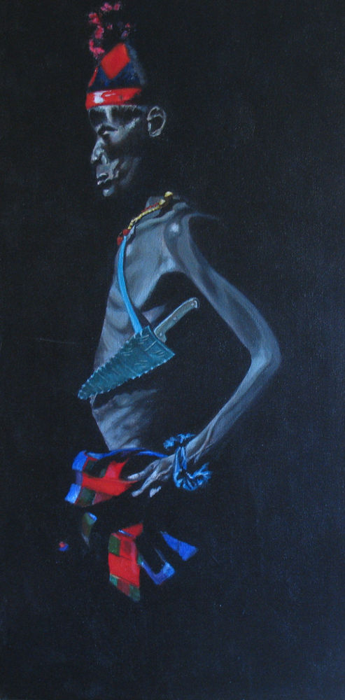 Turkana Tribesman