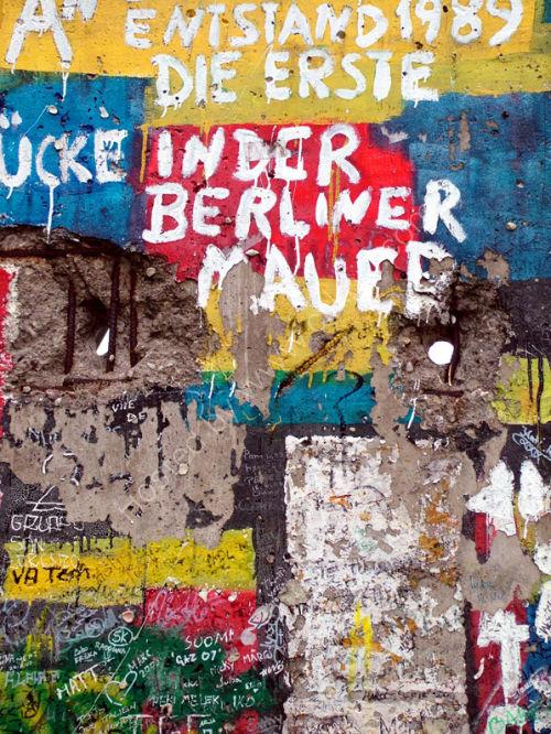 Berlin wall fragment
