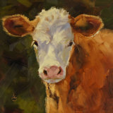 """Looking at me? Oil 8""""x8"""""""