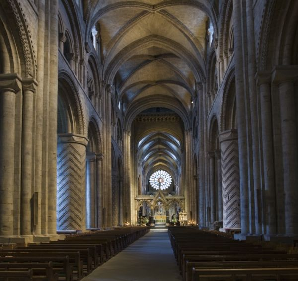 Durham Cathedral Aisle