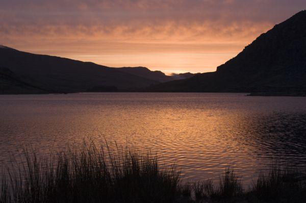 Sunrise - Llyn Ogwen