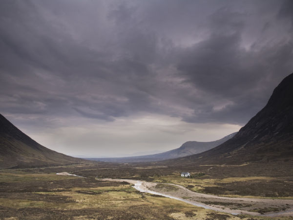 Stormy light over Rannoch Moor