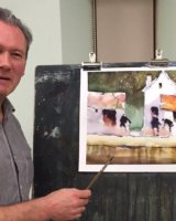 Watercolour Demonstration - Howard Jones