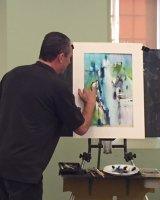 Howard Jones Abstract Art demo