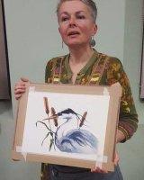 Alison Fennel Watercolour Demonstration