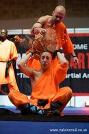 Brick Top. Shaolin Monks demonstration