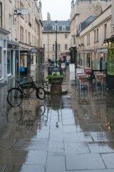 Rain & Reflections - Margaret Bldgs, Bath