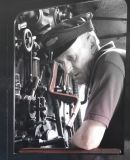 Steam Train Driver, York
