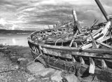 Wrecked Boat, Salen, Isle of Mull