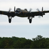 Lancaster over the trees
