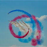 The Red Arrows performing the 'Gypo'