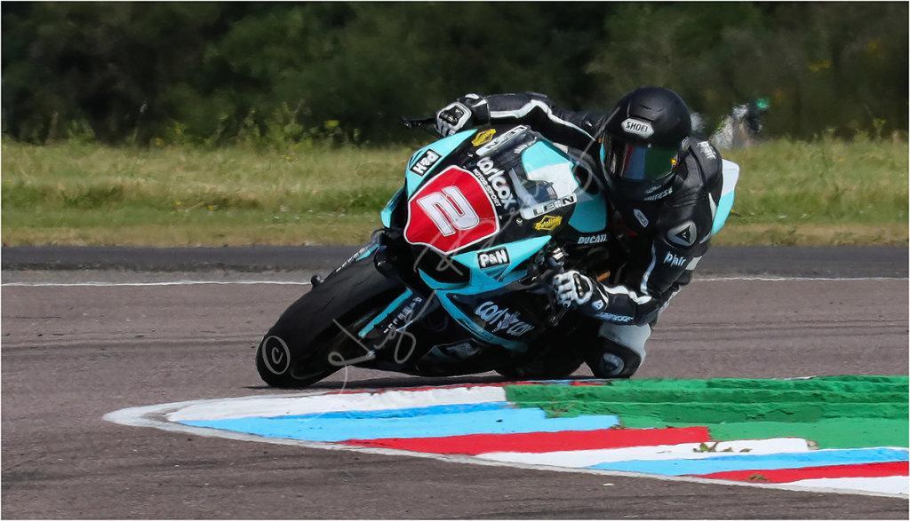 Local rider Leon Morris