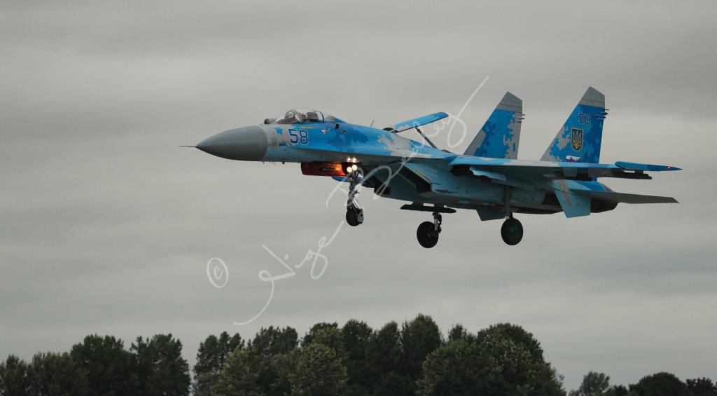 Ukraine Sukoi Su27