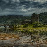 Eilean Donan Castle from the eastern side
