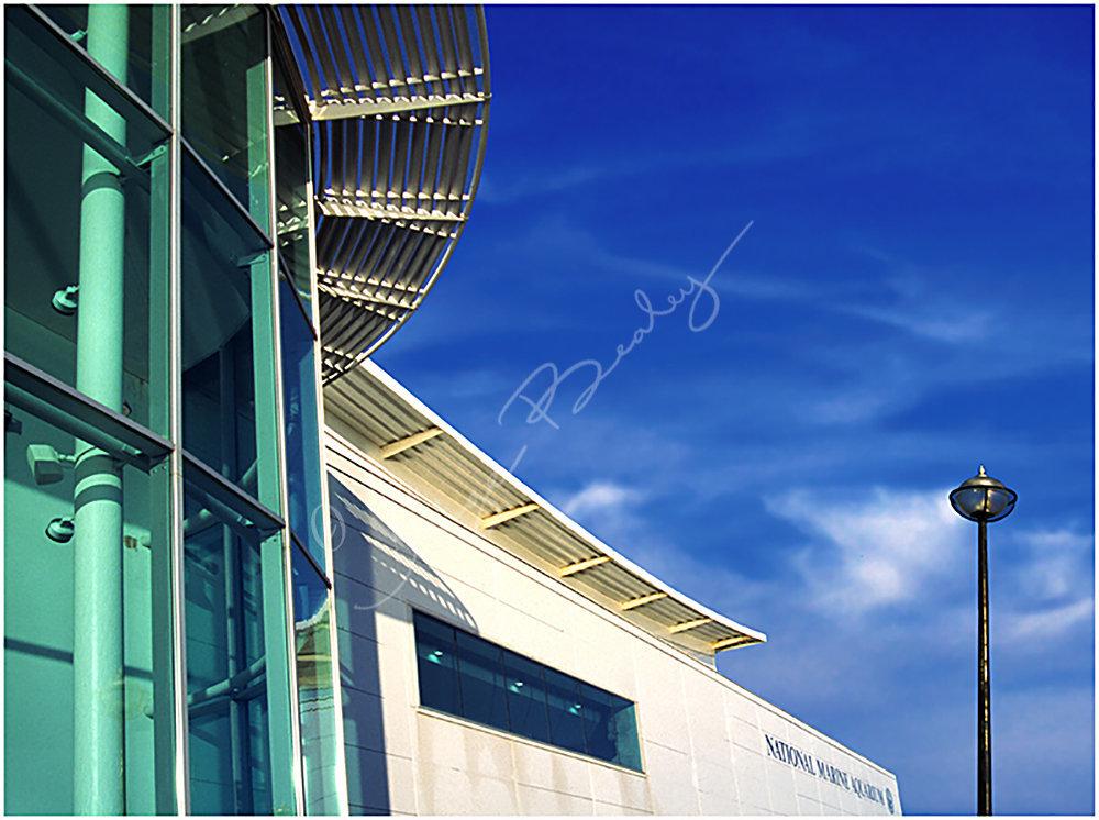 Blue Sky over The Aquarium