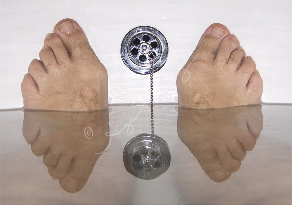 My Feet Reflected