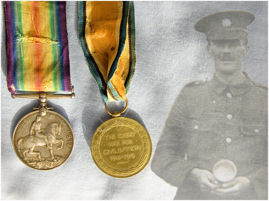 My Grandfathers Medals