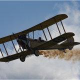 Smoking Bi Plane
