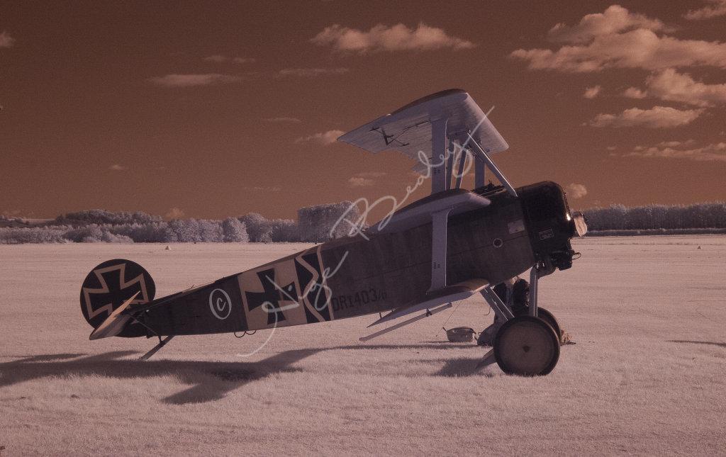 WW1 German Tri Plane