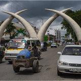 Elephant Tusk Arches, Mombassa