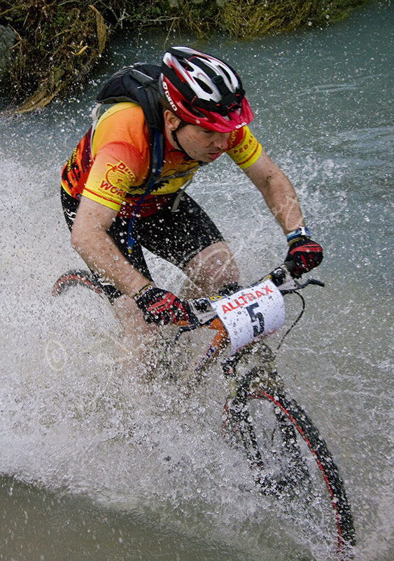 Competitor in The Soggy Bottom Race
